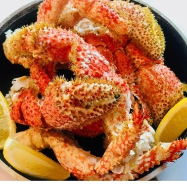 Snow Crab with a medley of seafood
